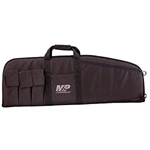 M&P by Smith & WessonDuty Series Gun Case Padded Tactical Rifle Bag for Hunting Shooting Range Sports Storage and Transport
