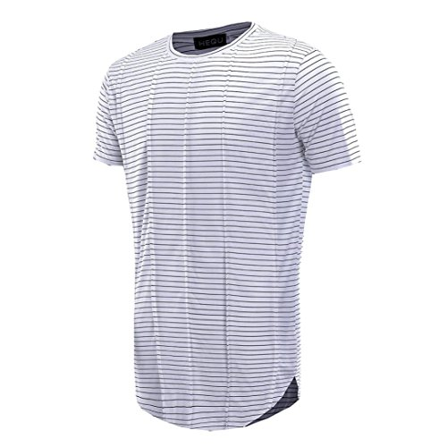 (Clearance Sale! Wintialy Men's Summer Fashion Casual Stripe Short Sleeve O-Neck T-Shirt Top Blouse Tee)