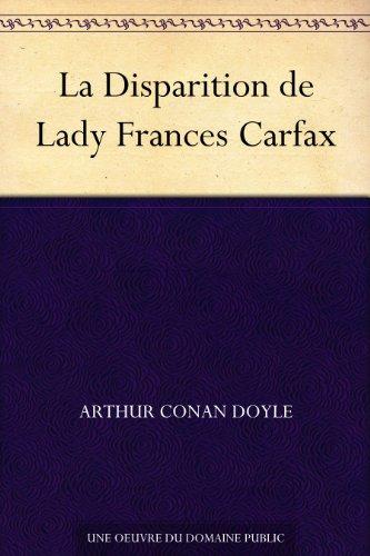 la-disparition-de-lady-frances-carfax-french-edition