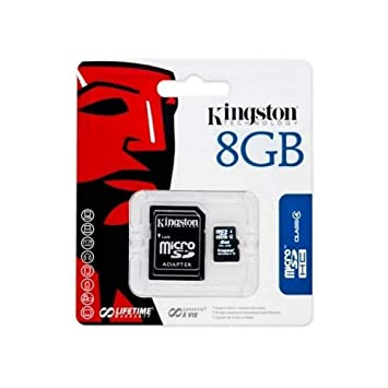 Kingston 8 gbking Tarjeta de Memoria microSD para Samsung ...