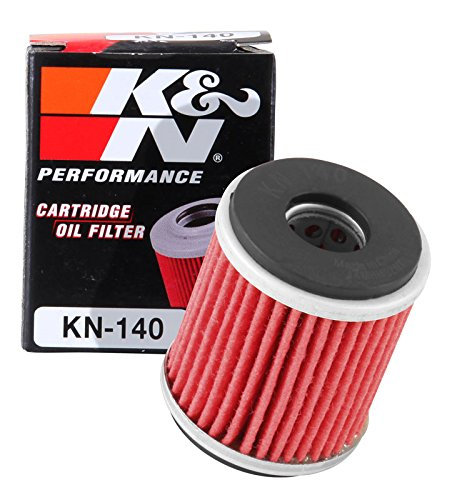 KN-140 K&N Performance Oil Filter; POWERSPORTS CARTRIDGE (Powersports Oil Filters):