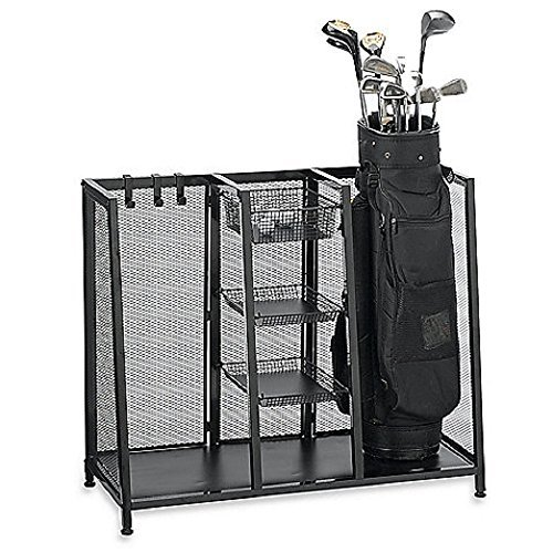 Metal Two Bag Golf Organizer ()