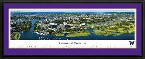 Husky Stadium and University of Washington Campus Aerial - Blakeway Panoramas Print