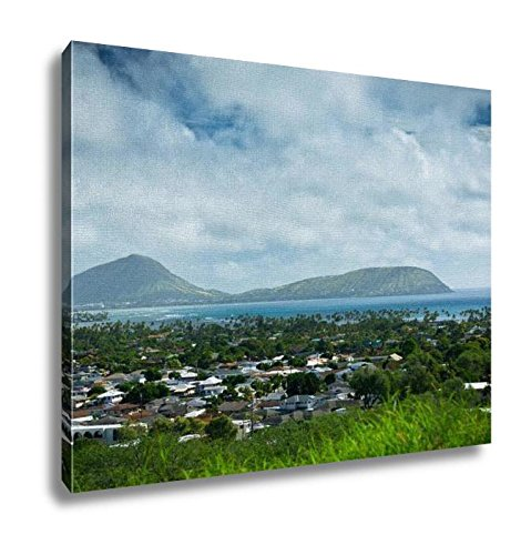 Ashley Canvas, Beautiful View Of Honolulu Hawaii United States, Home Decoration Office, Ready to Hang, 20x25, AG6409519 by Ashley Canvas