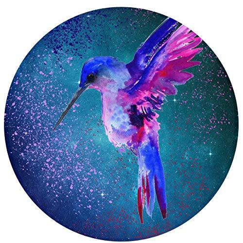 Huangwei Splash Love Birds Round Door Mat 23.6