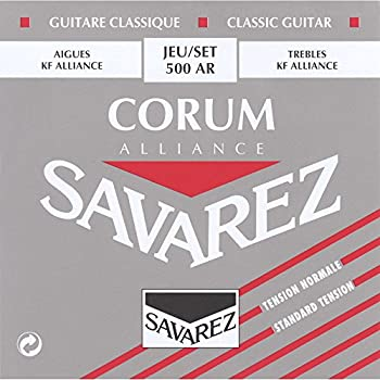 Savarez Strings 500AR Nylon Classical Guitar Strings, Medium
