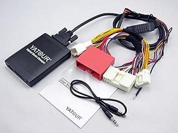 mp3 usb адаптер yt-m06 yatour mazda