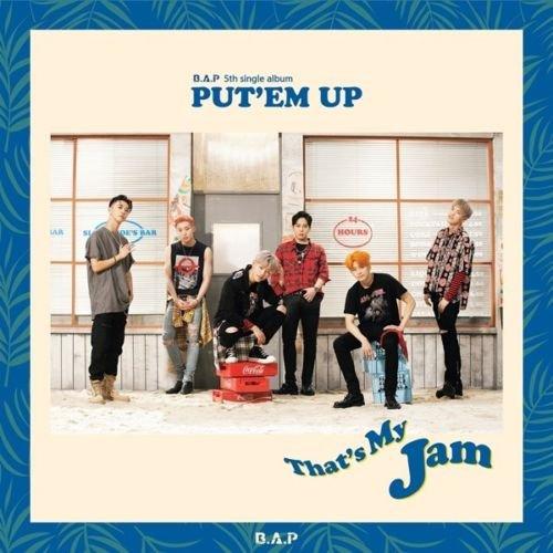 B.A.P [PUT'EM UP] 5th Single Album CD+Photobook+Photocard+Tracking Number K-POP SEALED