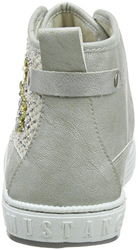 Blanc Cass Femme Mustang 1246 203 Hautes Baskets 504 0x1qYP