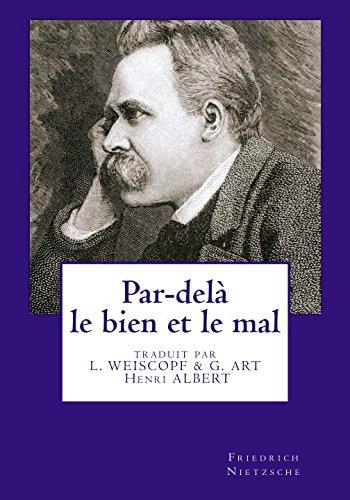 Par-dela le bien et le mal  [Nietzsche, Friedrich] (Tapa Blanda)