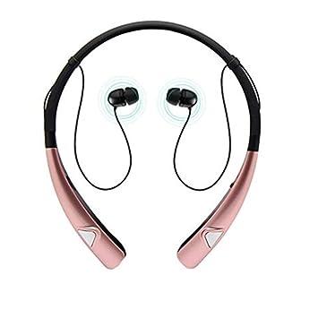 iPhone 8 Auriculares Bluetooth, TechCode Auriculares con banda para el cuello inalámbricos Auriculares estéreo sin