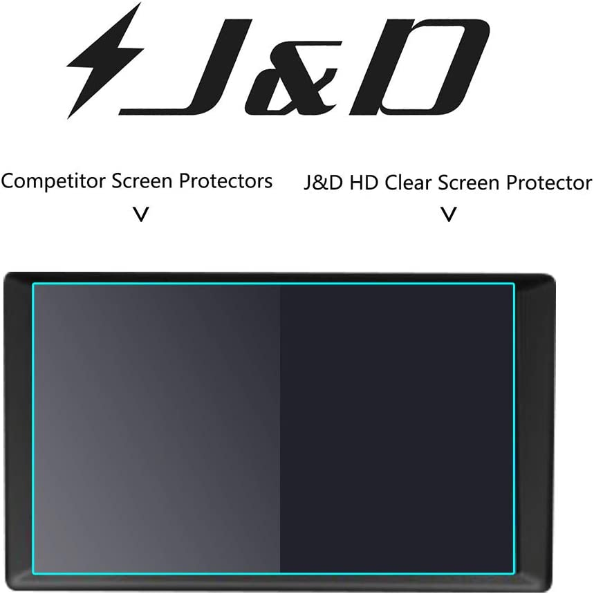 J/&D Compatible for 2013-2020 Ford Fusion//2018-2020 Ford Expedition//2015-2020 Ford Mustang 8 inch Car Navigation Screen Protector 1-Pack HD Clear Film Shield Ford Fusion Crystal Clear Screen Protector