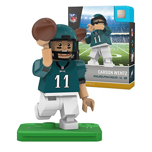 Card Philadelphia Nfl Football Eagles (Carson Wentz NFL OYO Philadelphia Eagles Generation 4 G4 Mini Figure)