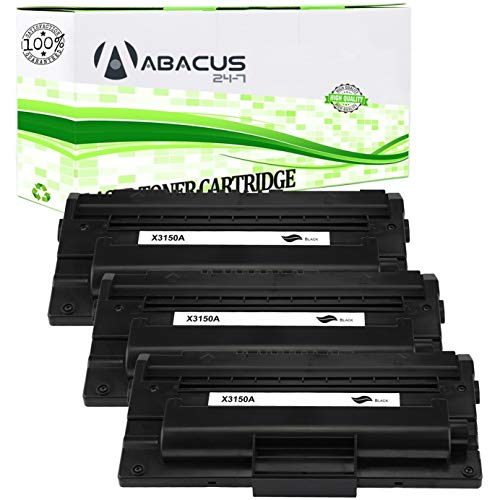 Abacus24-7 Compatible Toner Cartridge Replacement for Xerox 109R00746 Black Toner Cartridge for use with Xerox Phaser 3150/3150B Laser Printer (3-Pack)