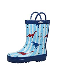 Natural Rubber Rain Boots Unisex Toddler Kids