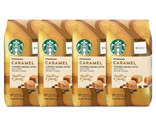 Starbucks Caramel Flavored Ground Coffee (4-Pack)