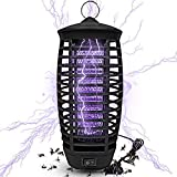 Athemo Upgraded Mosquito Killer Bug Zapper, UV Light, Indoor Outdoor Electronic Insect Killer