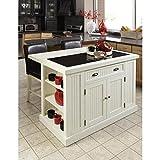 Kyпить Home Styles 5022-94 Nantucket Kitchen Island, Distressed White Finish на Amazon.com
