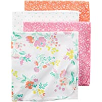 Carter's Girls' Receiving Blankets D06g039, Print, One Size