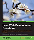 Read Less Web Development Cookbook Epub