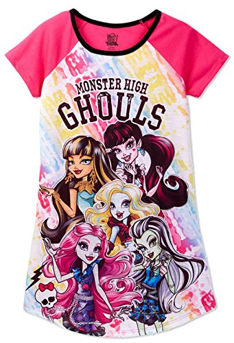 Monster High Girls' Big Ghouls Dorm, Pink X-Large (14-16) -