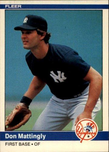 1984 Fleer Baseball Rookie Card #131 Don Mattingly Near Mint/Mint -