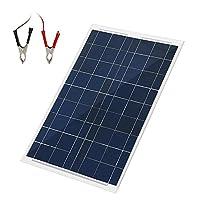 30 Watts 12 Volts Solar Panel Kit Portab...