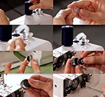 36Pcs Bobinas Para Máquinas De Coser Plásticos Carretes De ...