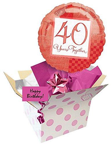 idealWigsNet Enviar un Globo - 40 cumpleaños 18
