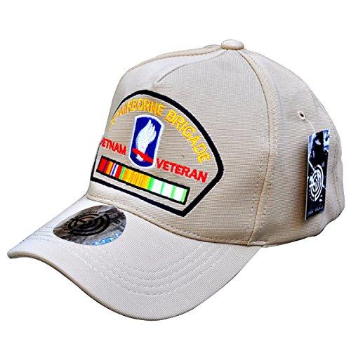 HANWILD Army 173rd Airborne Brigade Baseball Hat Embroidered - Cap Military Airborne Ball