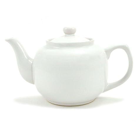 Amazon.com: Tetera Amsterdam 6 tazas, color blanco: Kitchen ...