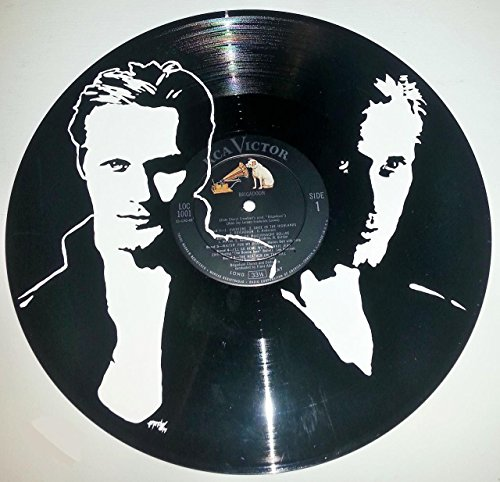 Hand painted True Blood Eric Northman vinyl record wall art