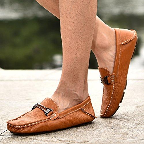 Icegrey Brown Boots Uomo Da Mocassino wIYa1Eaq