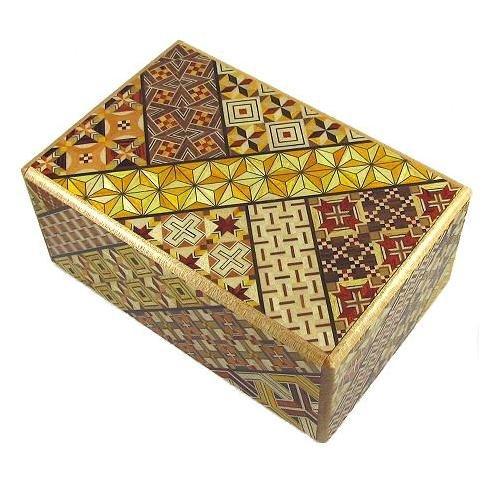 5 Sun 7 Steps Koyosegi - Japanese Puzzle Box (Japanese Box Steps Puzzle)