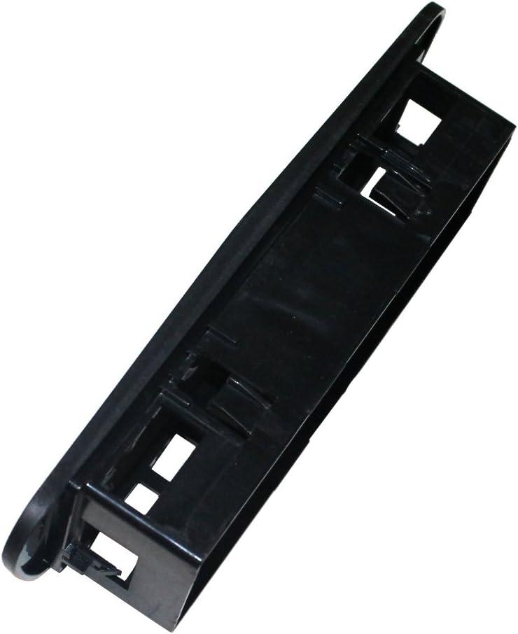 AERZETIX Mascherina telaio adattatore 1DIN copertura in plastica stampata per il cambio sostituzione dellautoradio originale con un radio standard per veicoli automobile