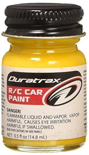 (DuraTrax Polycarbonate Radio Control Vehicle Body Paint, 0.5 Fluid Ounces, Bright Yellow)