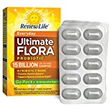 Renew Life – Ultimate Flora Probiotic Everyday – 15 billion – 60 vegetable capsules – Go Pack Review