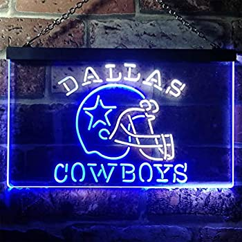 Amazon.com: ZAKAKU Dallas Cowboys - Letrero de neón con luz ...