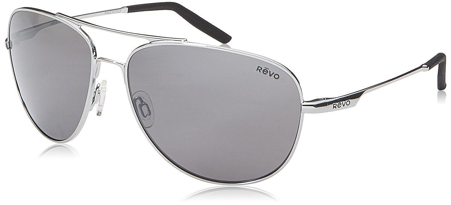 7dc36f2450 Amazon.com  Revo Windspeed RE 3087 Sunglasses 03 GY Chrome   Graphite 61 mm   Clothing