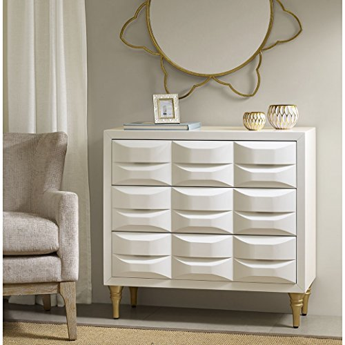 Rubrix 3 Drawer Chest White See - Drawer 3 Madison