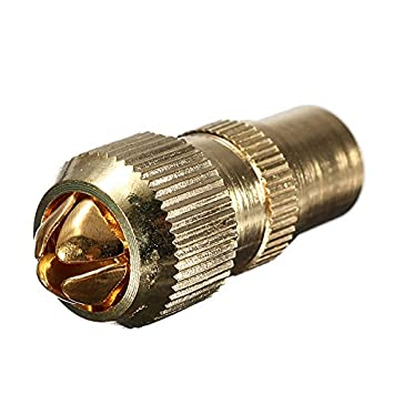 Generic macho – Conector Antena de TV RF Cable coaxial enchufe FREEVIEW COAXIAL ...