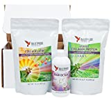 Bulletproof Brain Octane Oil (16 oz), Bulletproof Collagen Protein (16 oz) & Bulletproof CollaGelatin (16 oz)