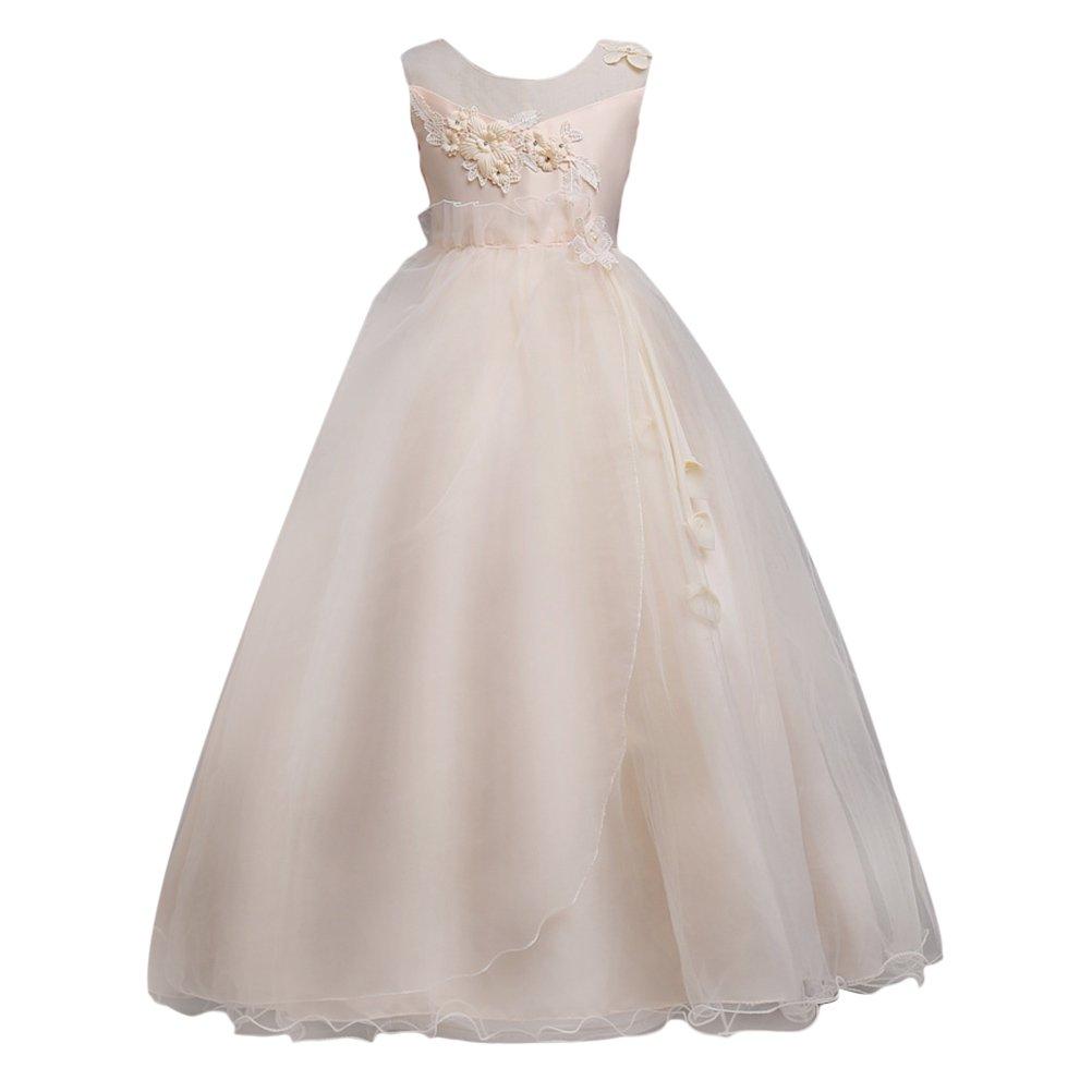 6d579a6abffc Zhuhaitf Girls Flower Formal Wedding Bridesmaid Party Christening ...