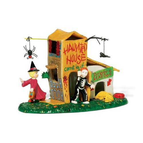 Department 56 Snow Village Halloween Come in if You Dare Accessory Figurine