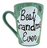 mothers day gifts  KINREX Coffee & Tea Mug - Best Grandma Ever -12 oz - Gifts for Mom, Women and Ladies