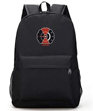 d8eae1148d47 Amazon.com: Youngate Kpop EXO Backpack Canvas Messenger Bag ...