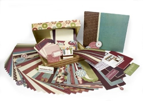 - Colorbok Antique Woodcut Scrapbook 12 by 12 Album Bo by Kit