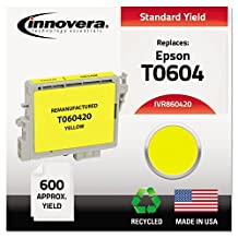 Replacement Ink Jet Cartridge, Replaces Epson T060420, Yellow (IVR60420)