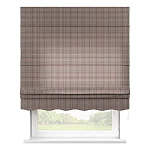 dekoria 160 x 170 cm 63 x 67 inch florencia estor con accesorios peque o negro y rosa check. Black Bedroom Furniture Sets. Home Design Ideas