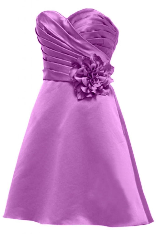 Victory Bridal Elegant Herzform Blume Abendkleider Kurz ...